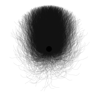 Simulation of 5000 axons