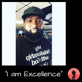 "@sirjuliusseals ""I am Exellence"""