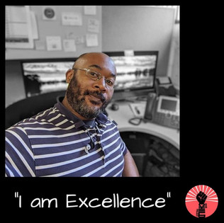 "@johnathanblade ""I am Exellence"""