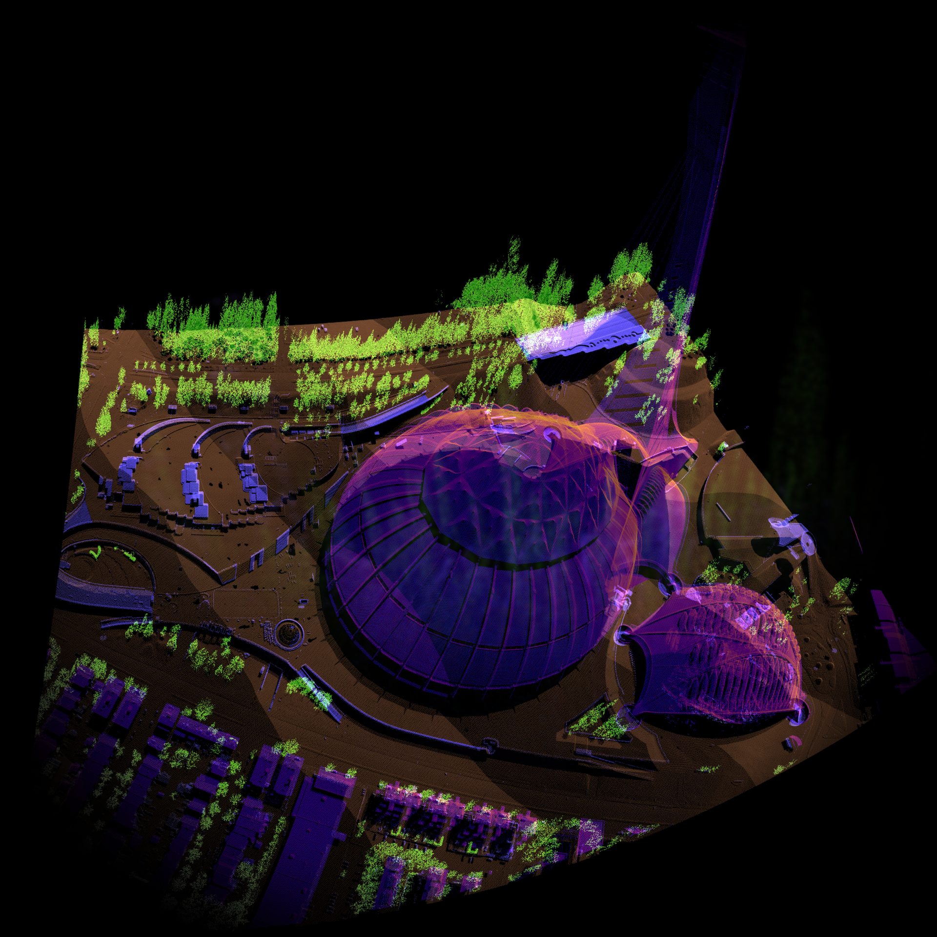3D experiments with LiDAR