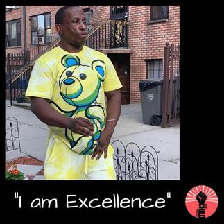 "@barrythavoicealston ""I am Exellence"""
