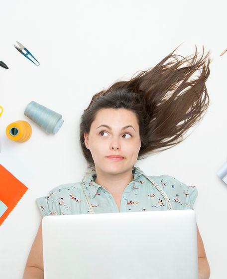 Learning development - woman cnsidering options