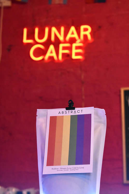 Bag of Beans Abstract Coffee Roasters - Lunar Café Exclusive