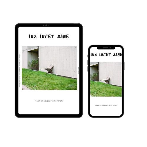 Lux Lucet Zine Issue 01 DIGITAL