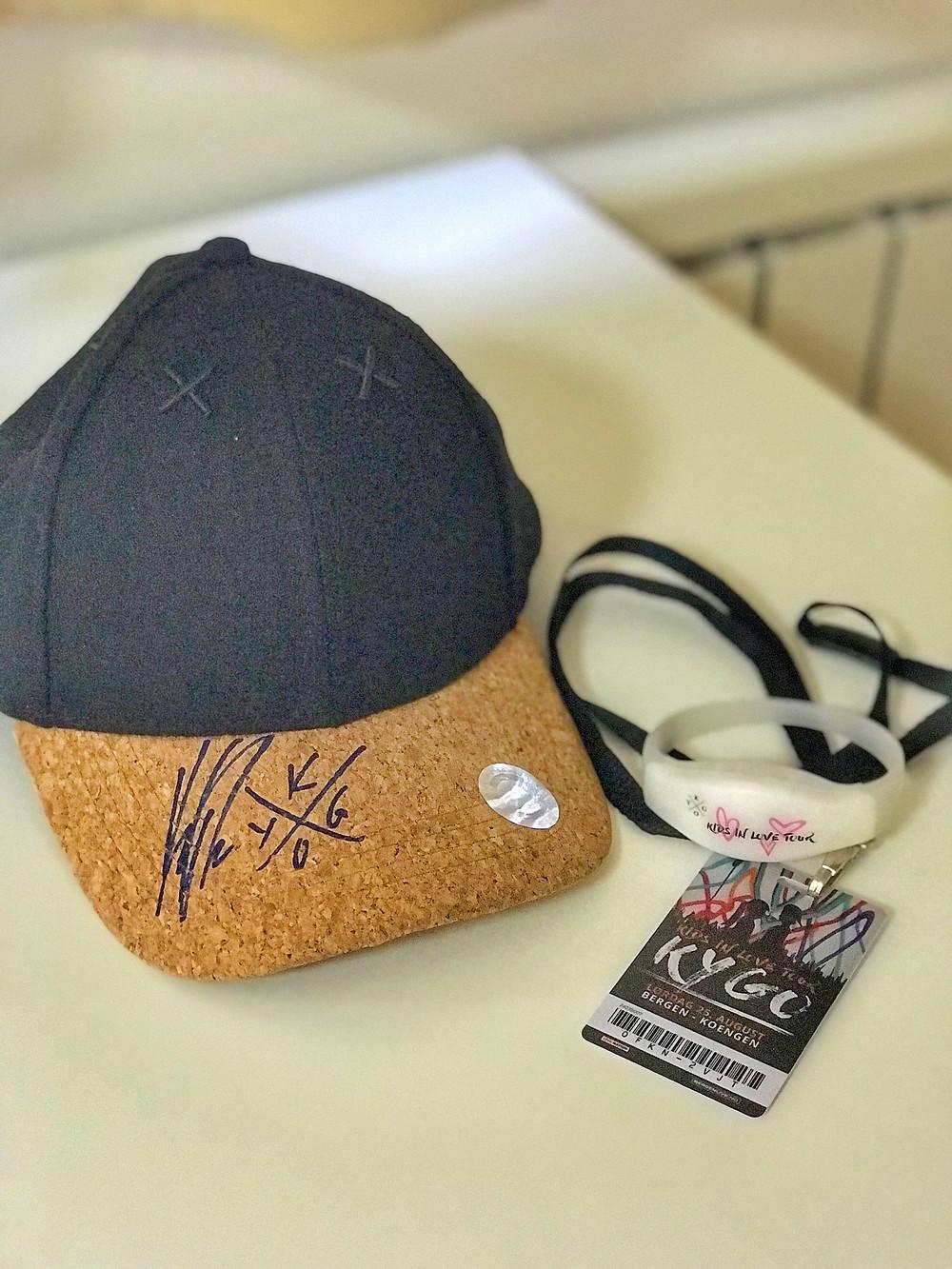 Kygo Hat Autographed - Drew Teller