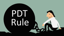 PDT Rule What is it?