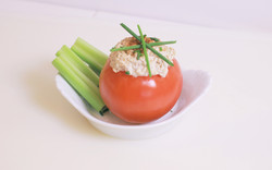 tomato - tuna