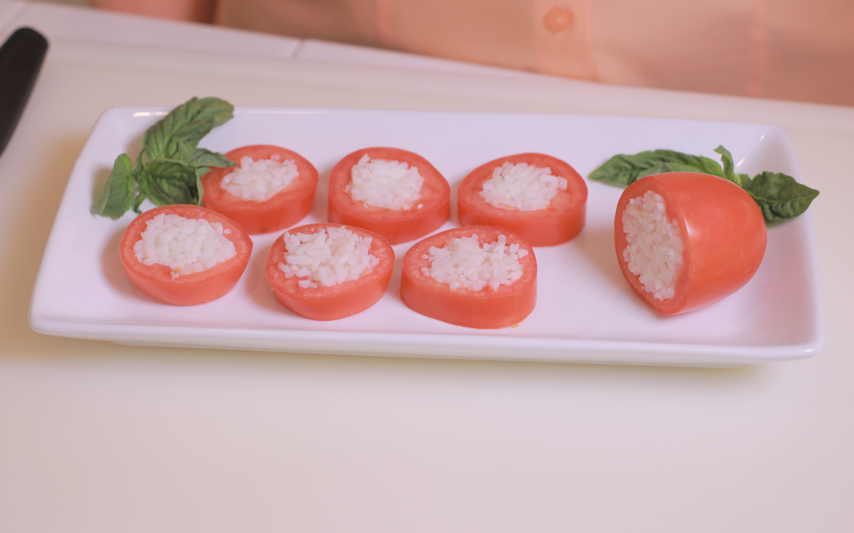 tomatoes cottage cheese