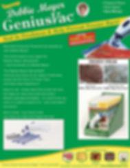 GreenBags, GreenBoxes, Handi-Vac, GeniusVac, GeniusSponge