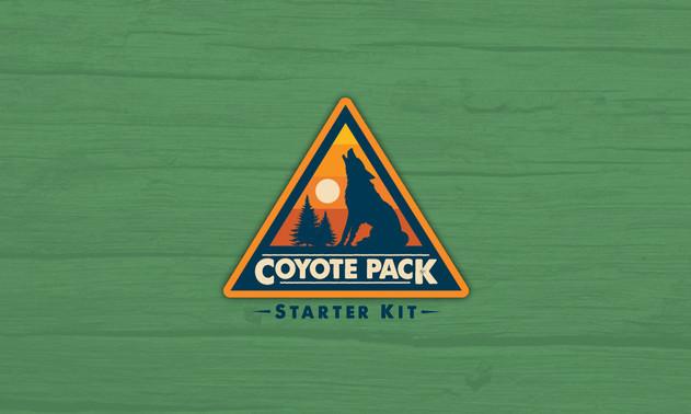 Brave Wilderness Coyote Pack Starter Kit