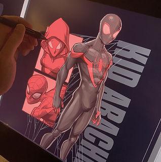 spiderman-color-jon-working.jpg