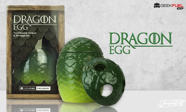 Geek Fuel Dragon Egg Product & Packaging Design