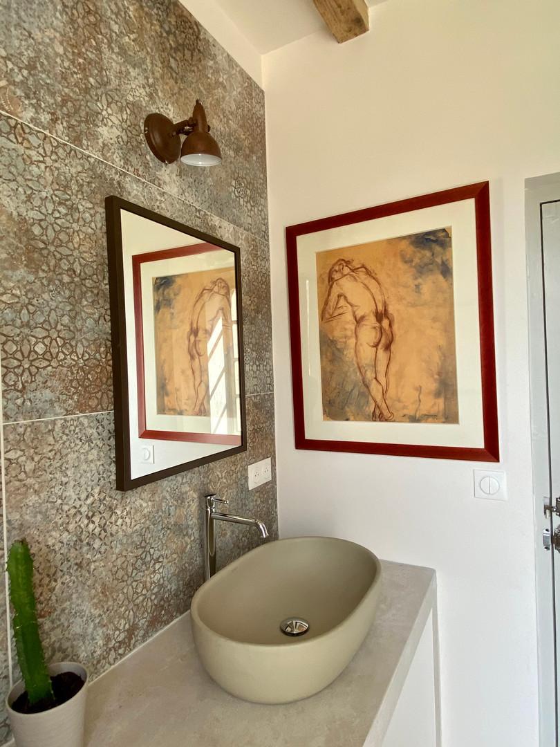 salle de bain grise vasque de droite .jp
