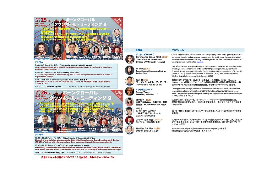 Bourne Global Research Exchange Meetings 8 & 9