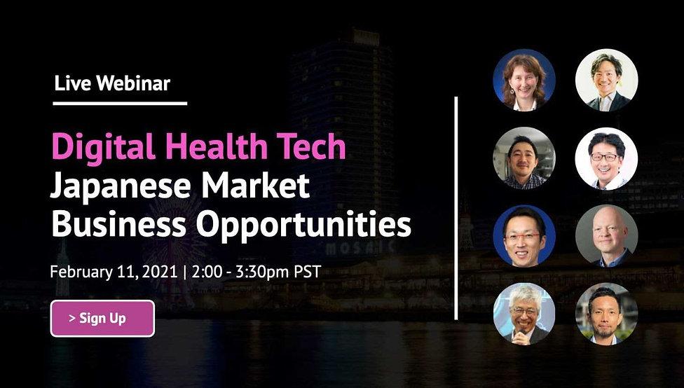 Webinar: Digital Health Tech Japanese Market Opportunities