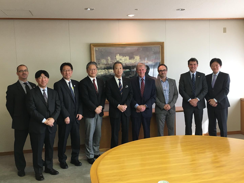 2018_11_05 Vice Mayor Noriyoushi Okaguch