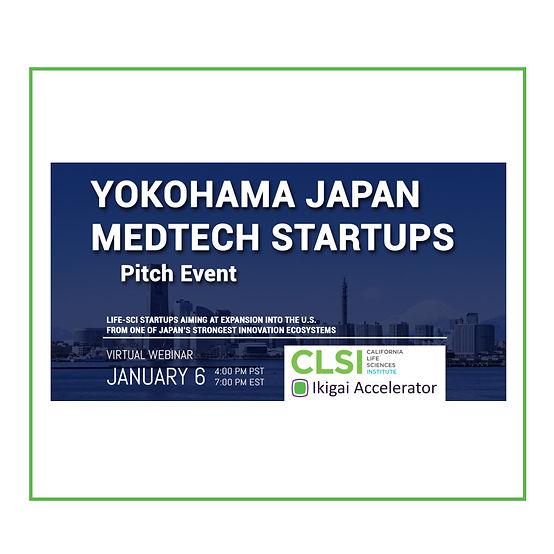 Yokohama Medtech Startups Pitch Event