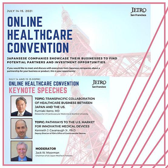 JETRO Presents Online Healthcare Convention