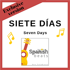 CoverTPT_SieteDias_Short+FunSpanishBeats_Ana_Calabrese