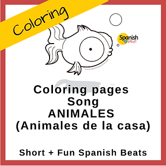 Logo_Coloringpage_Animales_Casa_Spanish_