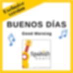 CoverTPT_BuenosDias_Short+FunSpanishBeats_Ana_Calabrese