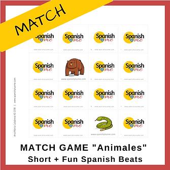 Logo_Match_Animales_Short+FunSpanishBeat