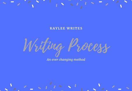My Writing Process - So Far