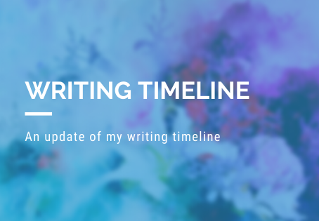 Updated Writing Timeline