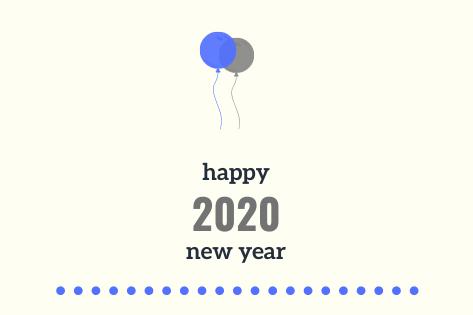 2020 Writing Challenge