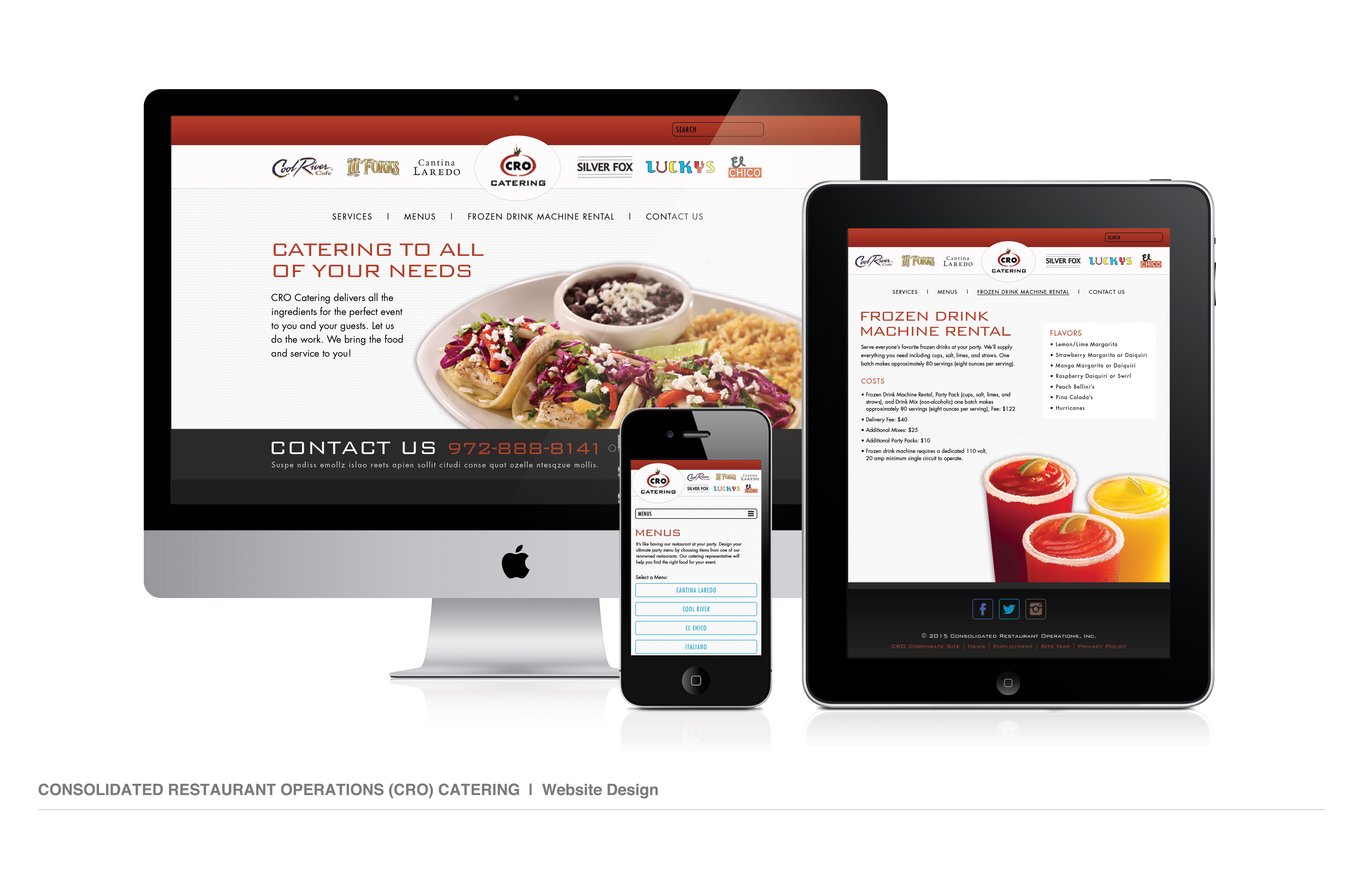 CRO Catering Website