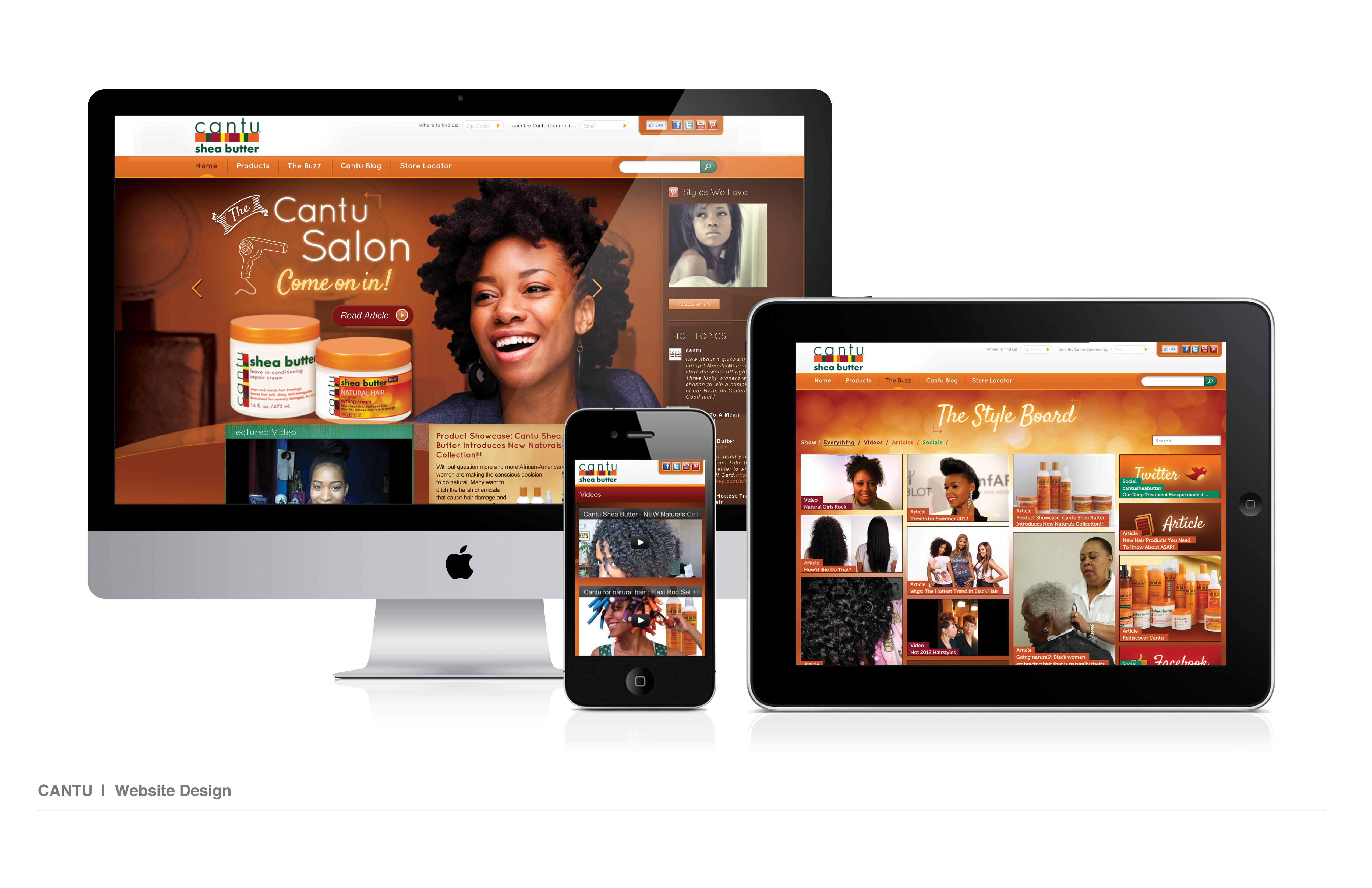 Cantu Website