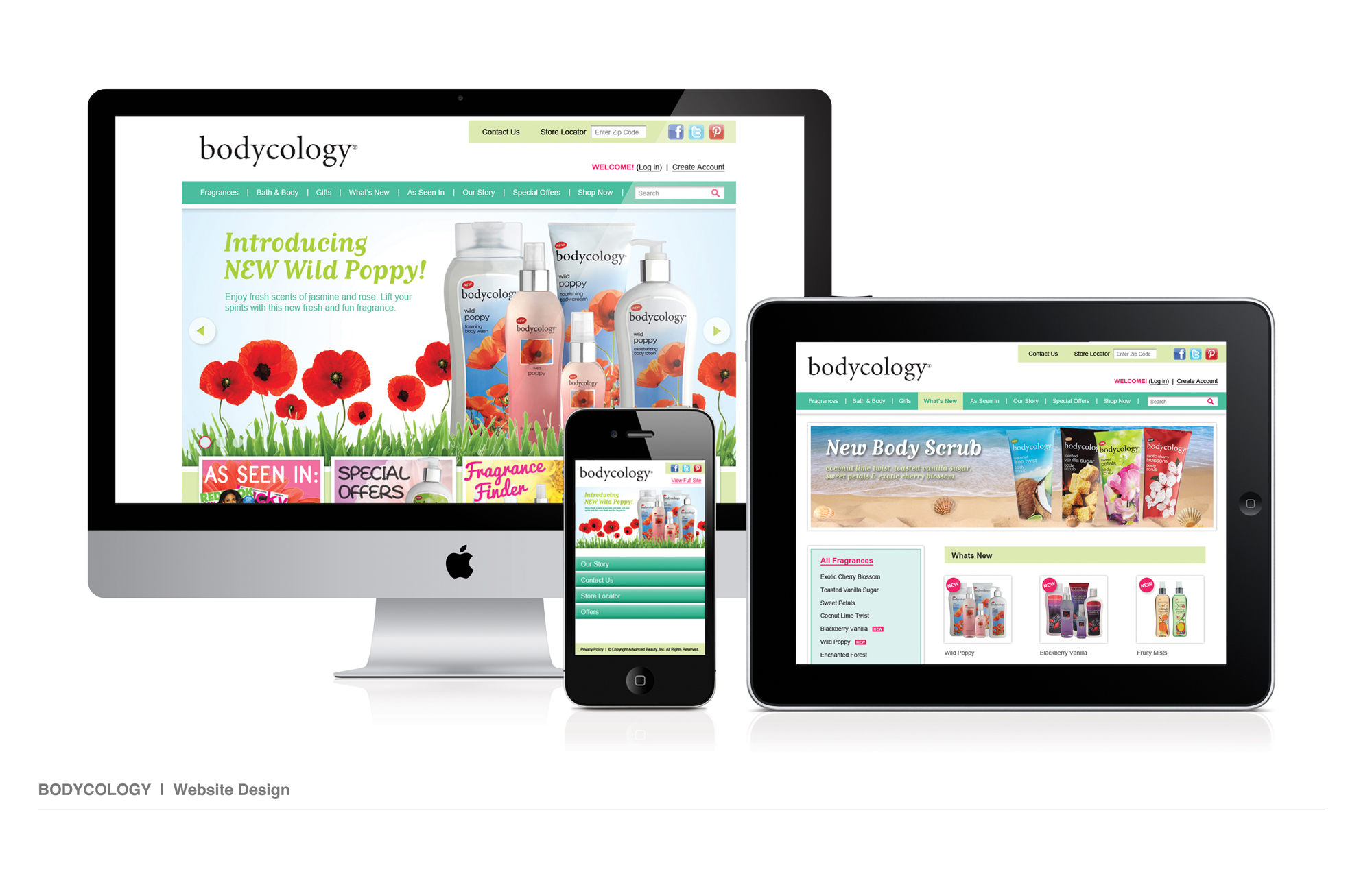 Bodycology Website