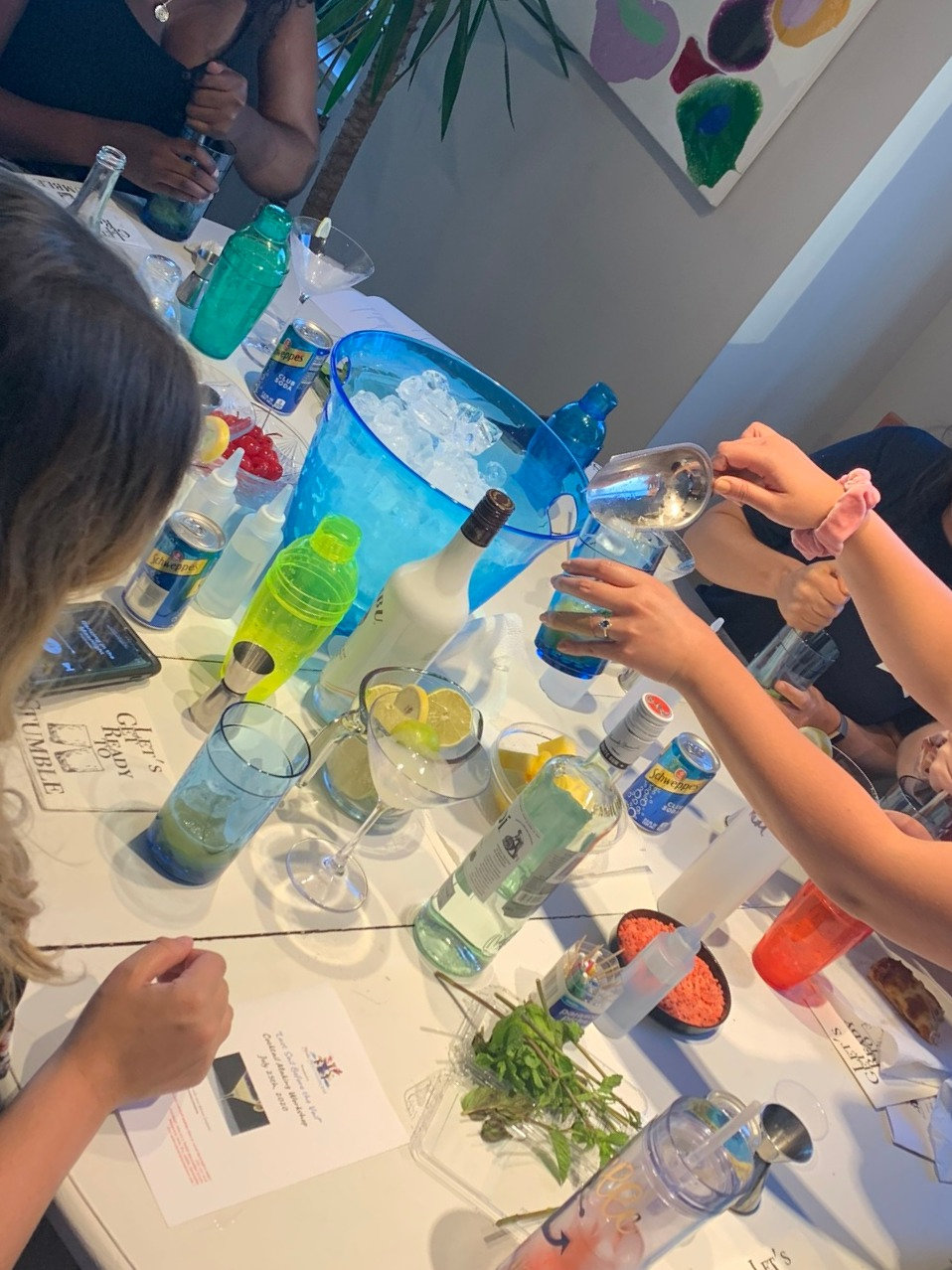 Private Cocktail Making Experience