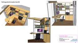 Visuel 3D horizon déco bureau 92