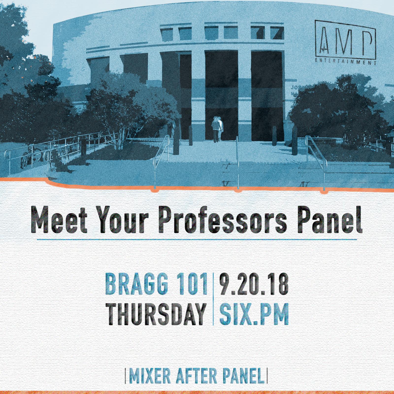 Meet Your Professors Panel