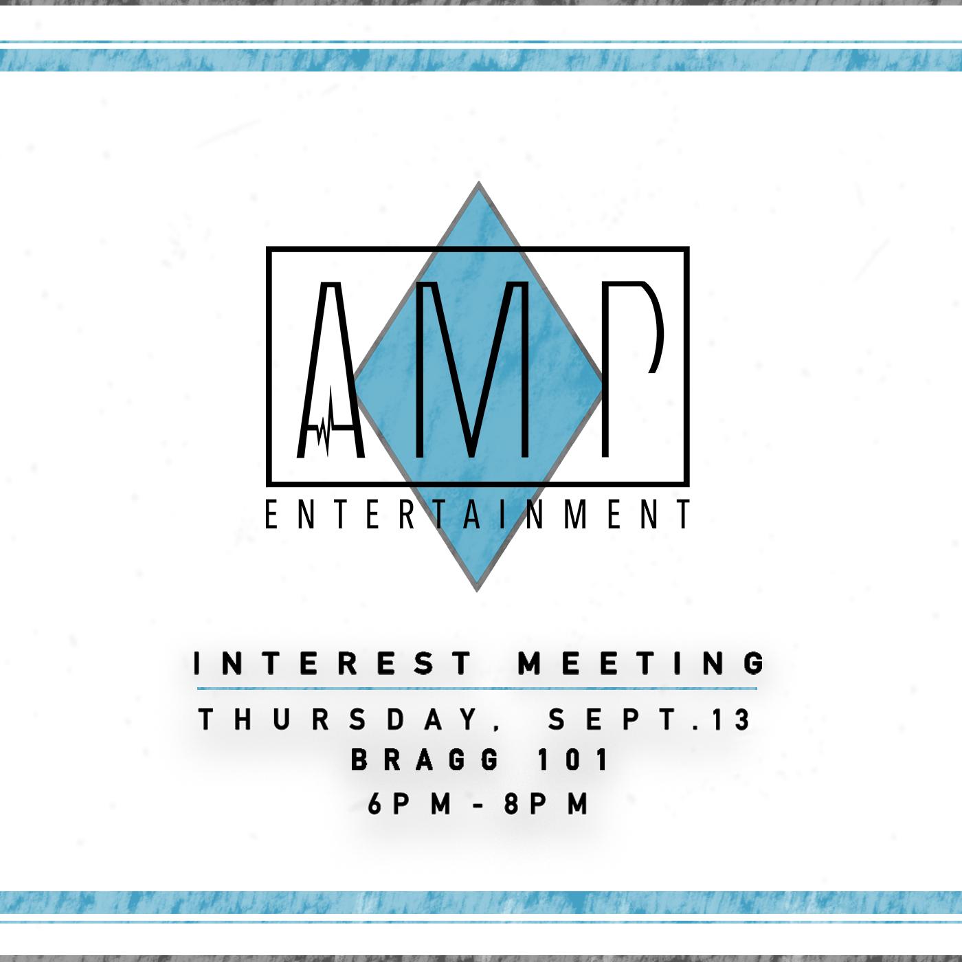 AMP Interest Meeting Social