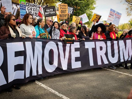 Marching to Remove Trump