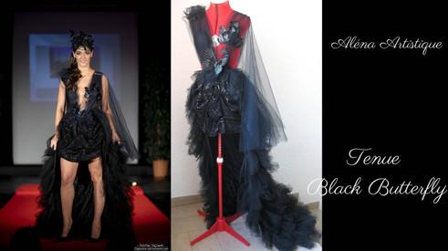 alenaartistique tenue black butterfly 2.