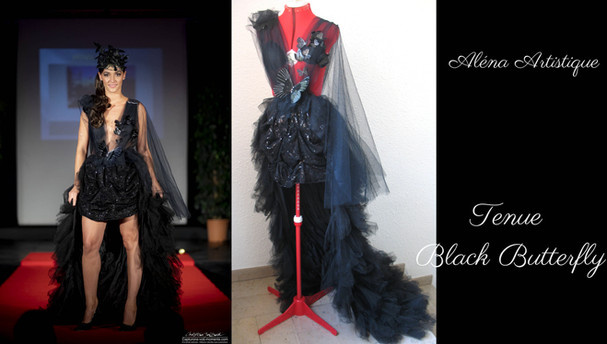 alenaartistique tenue black butterfly 2.