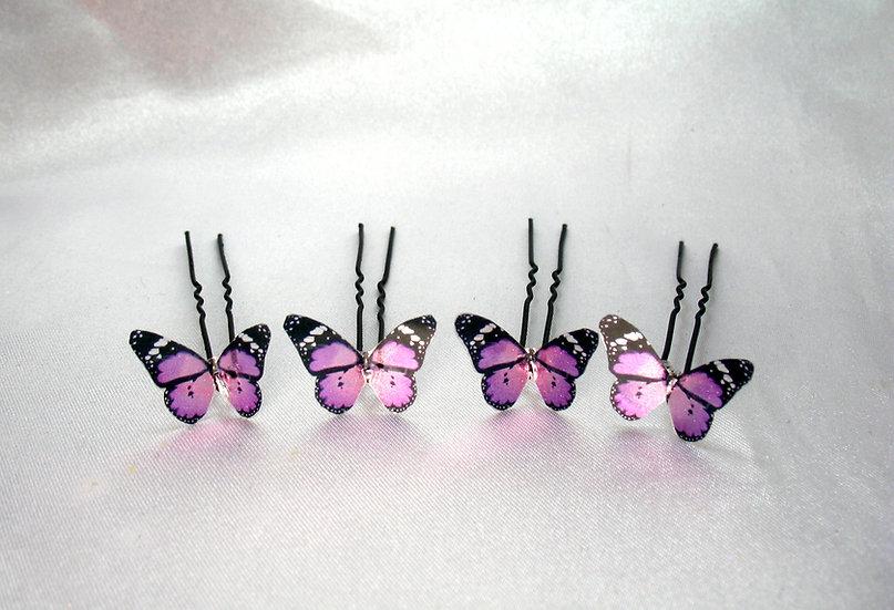 Pics à chignon Papillon