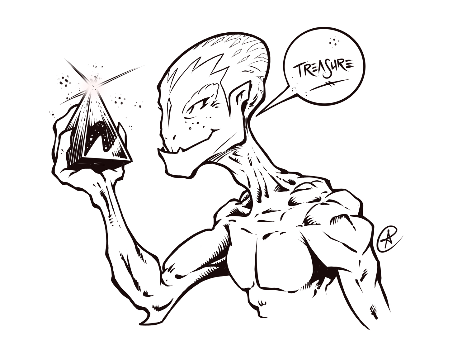 Treasure Alien