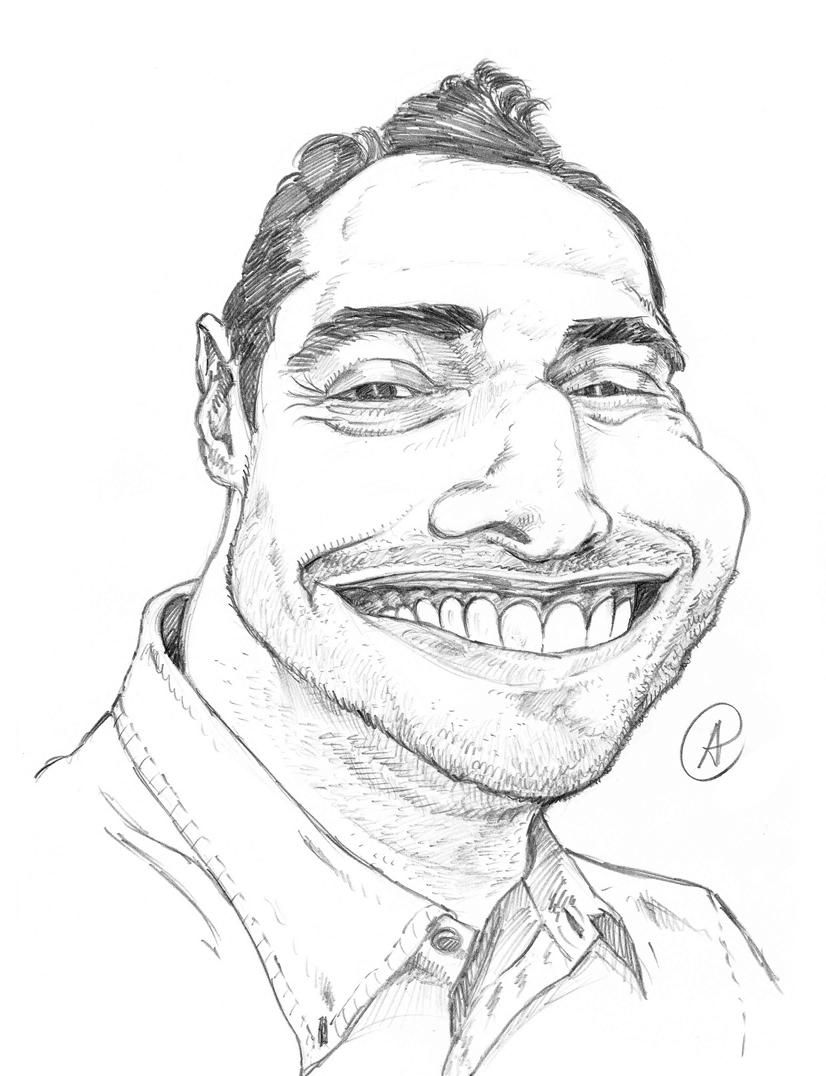 Matt2 Caricature