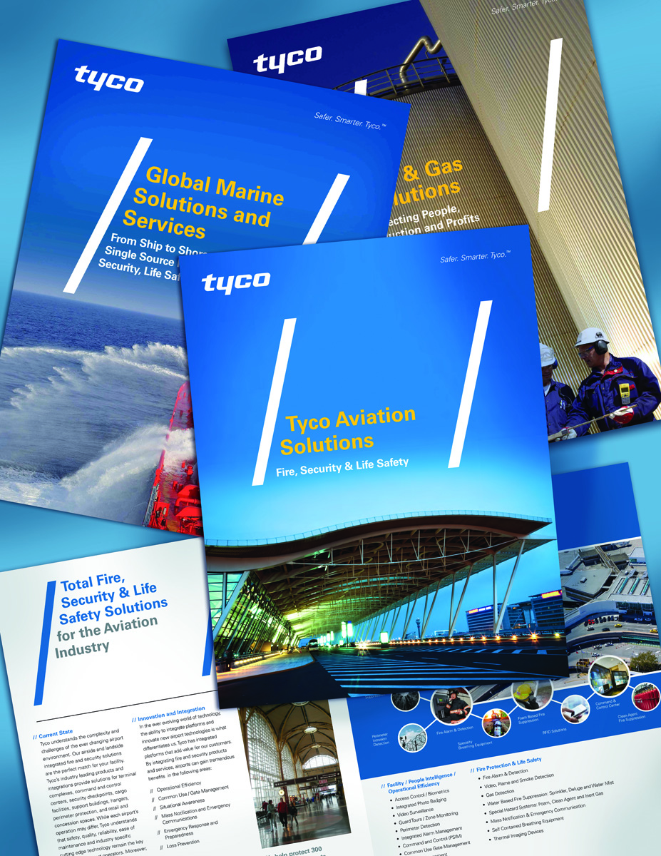 TYCO Vertical Brochures
