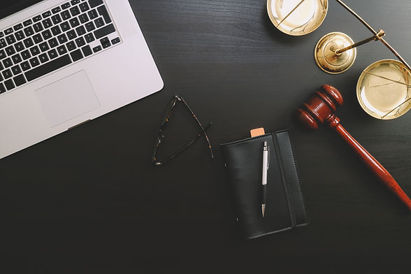 justice and law concept.Lawyer workplace