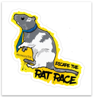 "JUNGLETIE ""ESCAPE THE RAT RACE"""