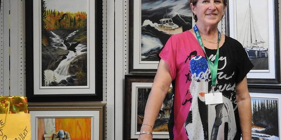 Exposition peinture - Sylvie Robichaud