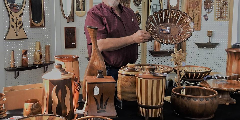 Exposition de produits de bois - Yvon Robichaud
