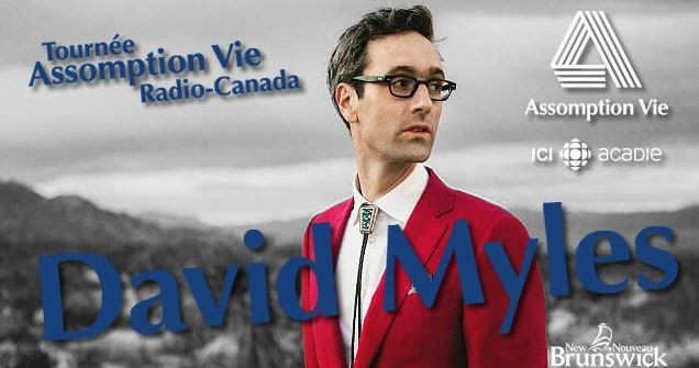 Tournée Assomption-vie Radio-Canada RADARTS - David Myles
