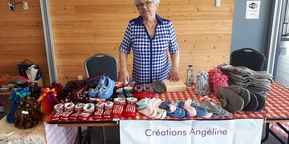 Exposition tricot - Angéline Chiasson