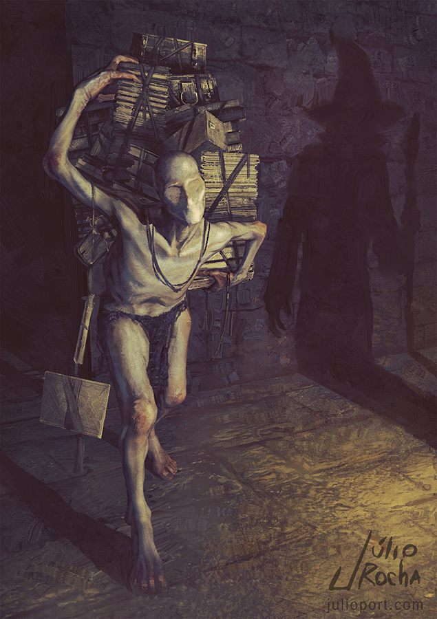 Conjure Servant commission